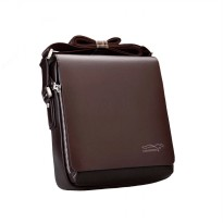 Best Selling!small size High Quality Guarantee Men Leather Handbag Messenger Bag - Tas Pria