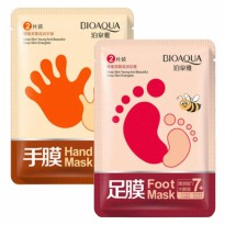 (GET2PCS) BIOAQUA HAND&FOOT WHITENING SMOOTH MASK / SKC01487