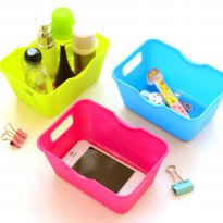 Colorful Plastic Box with Holder