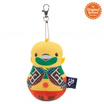 Asian Games 2018 Keychain Bowling Pin Bhin-Bhin 5 Inch