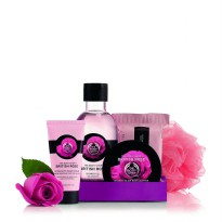 THE BODY SHOP GIFT SMALL BRITISH ROSE RAM17 A0