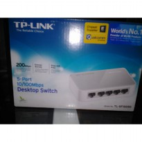 TP-LINK Switch Hub TL-SF1005D 5 Port 10/100 Mbps Desktop Switch