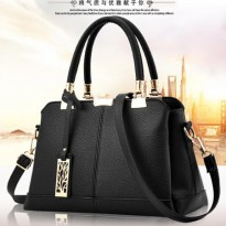 [800GR] TAS WANITA IMPORT - KOREAN STYLE A814| PU LEATHER|(30x19)cm|TP&RES: ADA