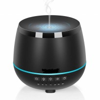 H45 Aromatherapy Oil Diffuser Cool Mist Ultrasonic Air Humidifier LED Night Lights-200ML
