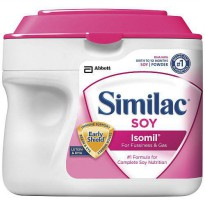 [poledit] Abbott Nutrition Similac Isomil Soy Infant Formula with Iron 1.45 lbs Powder (23/12172508