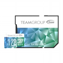 TEAMGROUP Color II mIcro SDHC 128GB UHS-1 U3 Adapter