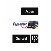 (POP UP AIA) PEPSODENT Pasta Gigi CHARCOAL WHITENING [160 g]
