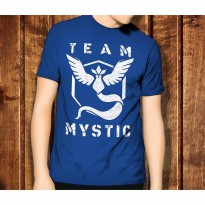 Pokemon Go 3 Team Mystic Game Anime Kaos T-Shirt TShirt T Shirt Anak