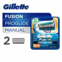 Gillette Isi Ulang Fusion Proglide - Isi 2