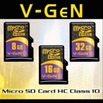 MICRO SD VGEN 8GB CLASS 10 / REDY FLASHDISK 8GB 16GB 32GB 64GB