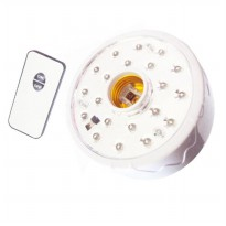 Luby Lampu Emergency 22 LED + FITTING dilengkapi Remote Control 5612A