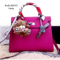 TAS/ BAG FASHION WANITA Hermeskelly A01333 BRANDED TERMURAH #fanta