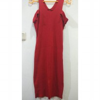 Dress Stretch Red Real Pic