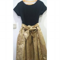 Dress Gold Real Pic