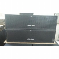 speaker line array 10'x2 + 2' driver pasif audioseven