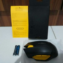 Mouse Wireless Optik James Donkey 102 6 Tombol 2000dpi Gaming