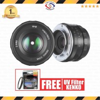 Meike 50 MM APS-C F2.0 For Fujifilm Mirrorless FREE Kenko Pro1 UV 49mm