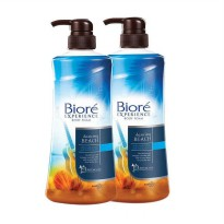 Biore Experience Body Foam Dancing Beach 550ml - 2 Pcs