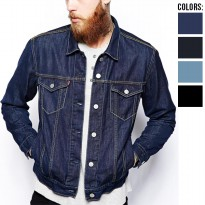 Jaket Jeans Denim For Men keren