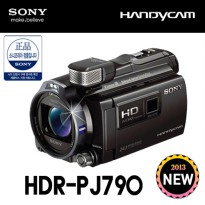 [Sony Genuine Sony Projector Camcorder HDR-PJ790 +8 G SD + original case + LCD Film / Full HD / Projector Camcorder / Sony Handycam / 2013 new model / fast shipping