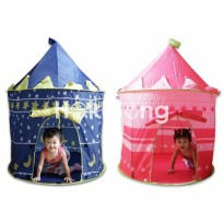 Tenda Anak Pink Castle and Blue Star