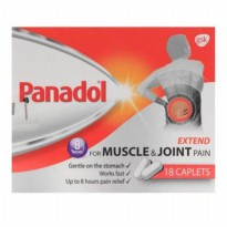 Panadol Extend For Muscle & Joint 18 Caps Made In Singapore
