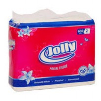 Jolly Facial Tissue 630g 2ply