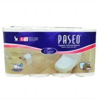 tissue toliet roll 8 roll paseo