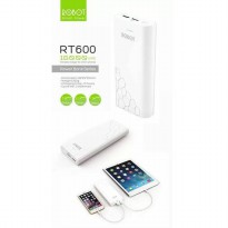 DISTRIBUTOR RESMI ROBOT 16000MAH ROBOT POWERBANK ROBOT by VIVAN RT600