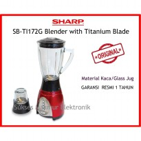 Blender Sharp SB-TI172G 1.7 Liter 400 Watt Titanium Series