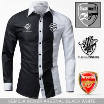 Kemeja Casual X Over Arsenal