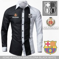 Kemeja Casual X Over Barca