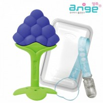 Ange Fruits teether grape with case+clip