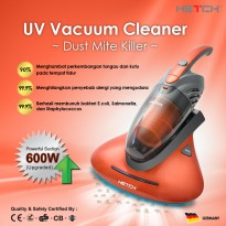 HETCH UV Vacuum Cleaner Dust Mite Killer- 4 in 1 Multi-function