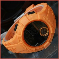 JAM TANGAN PRIA SUPERDRY DIGITAL ORANGE