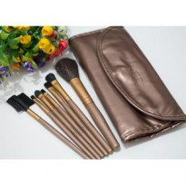 KUAS NAKED Dompet Kancing isi 7 Kuas ( make up brush )