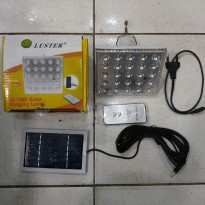 Lampu Emergency LED + Remote Tenaga Surya LT-5025