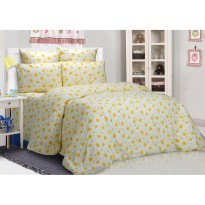 Sprei Piyo Yellow - King 180