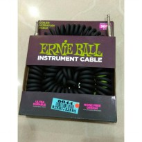 Ernie ball instrument cable 6044 Original 30 ft - Hitam