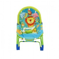 Pliko Rocking Chair Hammock Bouncer 3 Phases Lion - Green