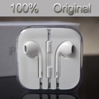 Headset Earphone Apple Iphone 5/5s/6/6+ Original 100%