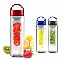 Botol Minum Tritan / Tritan Bottle BPA Free with Fruit Infused Water Bottle Generasi Pertama