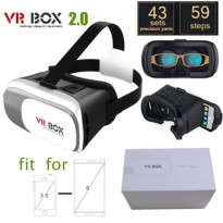 VR Box 3d Cardboard Virtual Reality For Smartphone & Ios - Putih