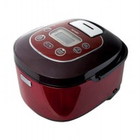 Sharp Rice Cooker - KS-TH18-RD - Merah, Cap. 1.8Lt