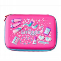 Smiggle Tempat Pensil Hardtop Pencil Case Original Pink