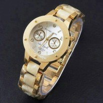Jam Tangan Michael Kors New York Gold Cream Kw Super