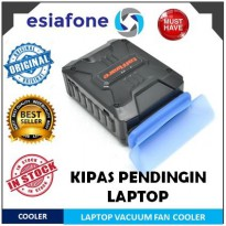 [esiafone cool item] TAFFWARE Coolcold Universal Laptop Vacuum / Fan Cooler - Kipas Pendingin Laptop