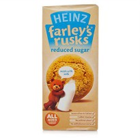 [poledit] Heinz Farleys Rusks 4 Month Reduced Sugar Original 150g X 4 Pack (T1)/12172117