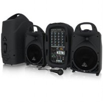 Behringer PPA500BT Portable PA System w/ 1pc Mic Cable