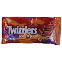 [poledit] Hershey`s Twizzlers Twist Pull`n`peel Fruit Punch Candy, 12 Oz (340g) BagGrape, /13273646